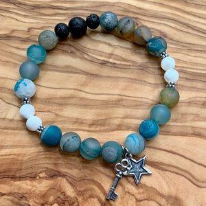 Jewelry - 🕉 Hope Crystal Aromatherapy Energy Bracelet